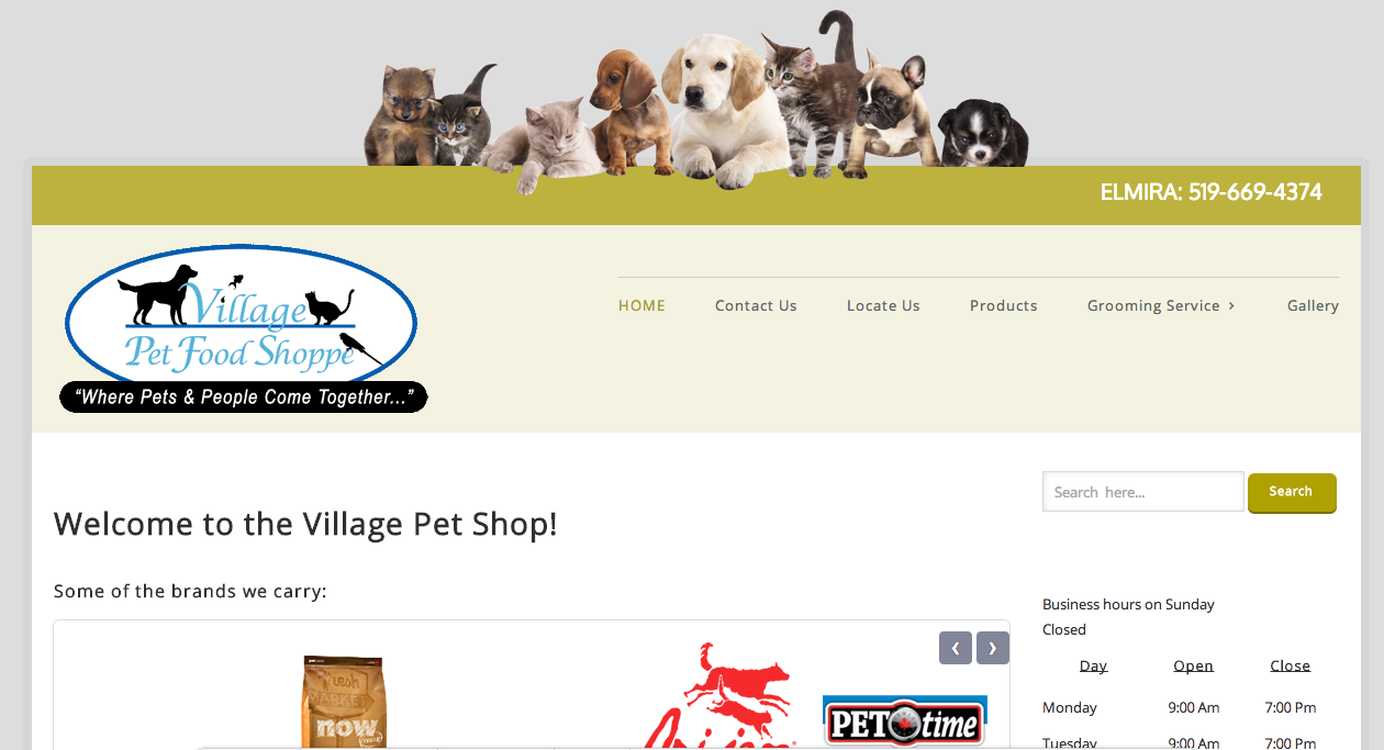 Village Pet Food Shoppe